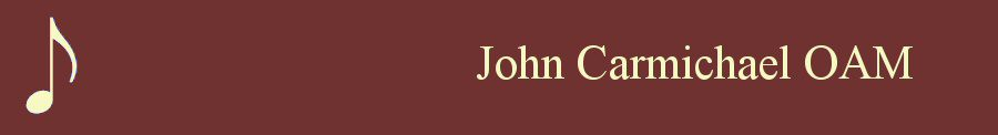 John Carmichael OAM